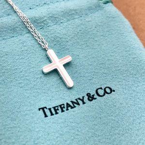 Tiffany & Co. Silver Cross Pendant